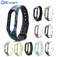 Ollivan Silicone Replacement Strap Belt For Xiaomi Mi Band 2 Smart Wristband Bracelet Replace Accessories Mi Band 2 Straps