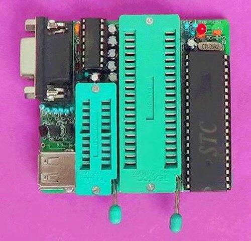 FREE Shipping!!! A51 Programmer Production Kit (AT89S51/52/ATC2051 Microcontroller Program Burner) (parts)