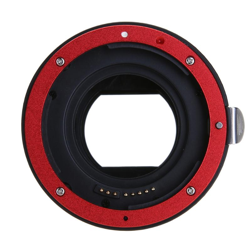 Pro CANON adaptér objektivu pro fotoaparát Canon EOS EF-S 60D 7D 5D - Videokamery a fotoaparáty - Fotografie 5