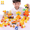 Boys Girls Baby Toys Firefighting & Engineering Big Brick Compatible With Big Blocks Building Blocks Educational Toys For Kids