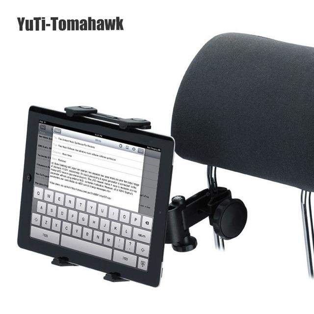 Auto encosto de cabeça do carro universal tablet titular de 360 graus para o telefone ipad epad touch pad 5-10 polegadas