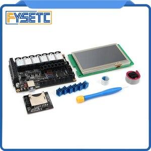 """Image 4 - Fysetc F6 V1.3 Tất Cả Trong Một Mainboard + 4.3 """"Màn Hình Cảm Ứng + Bộ 6 TMC2100/TMC2208 /TMC2130 V1.2/DRV8825/S109/A4988/ST820"""