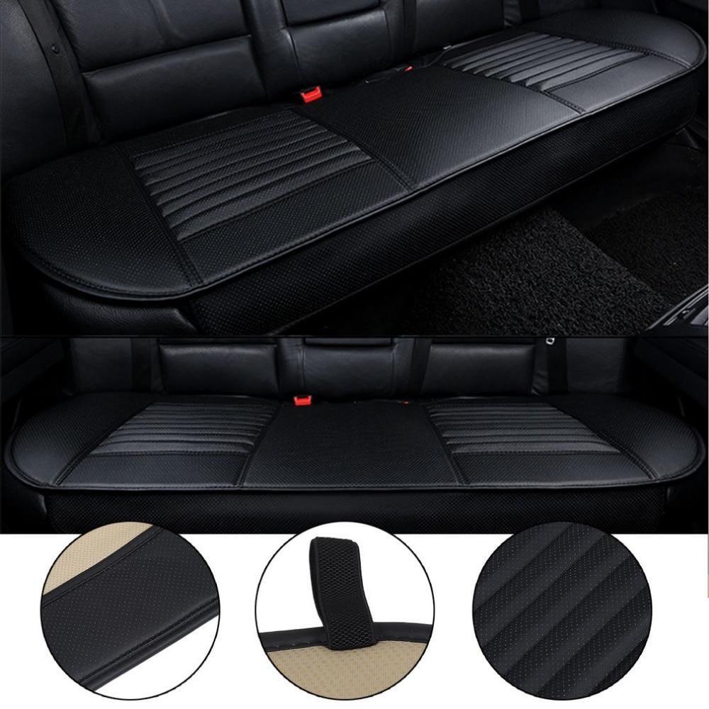 3 цвета автокресло мат уголь Авто загнуть сиденья дышащие противоскользящие Синтетическая кожа заднего сиденья