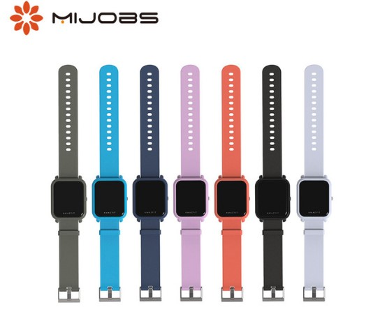20mm Strap For Amazfit GTS Silicone Wrist Strap For Xiaomi Huami Amazfit Bip BIT PACE Lite Youth Smart Watch Bracelet Wristband