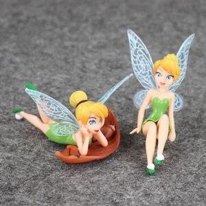 Image 4 - 4 Cái/lốc Hình Công Chúa Đồ Chơi Tinkerbell Cổ Tích Quốc Bộ Cho Trẻ Em Quà Tặng Sinh Nhật