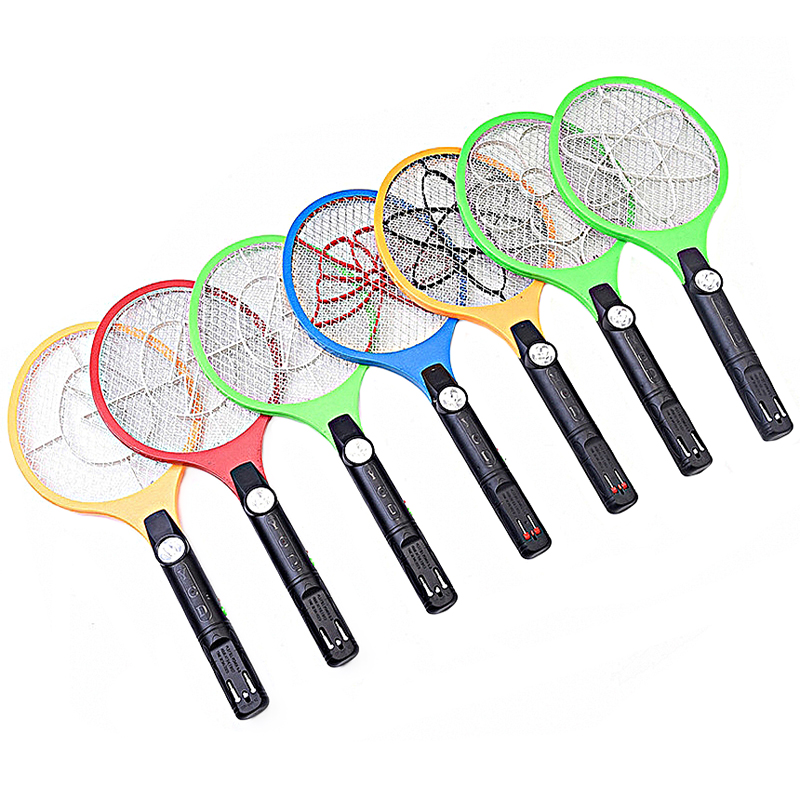 Electric Mosquito Swatter Night Light Bug Zapper Portable Fly Led Lighting Mosquito Killer Pest Control Charging Type