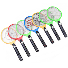 Electric Mosquito Swatter Night light Bug Zapper Portable Fly LED lighting Killer Pest Control charging type