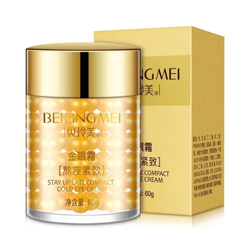Gold Eye Serum Anti Dark Circles Anti-Aging For the Eye Care Moisturizing Anti-wrinkle Eye Cream Dropshipping