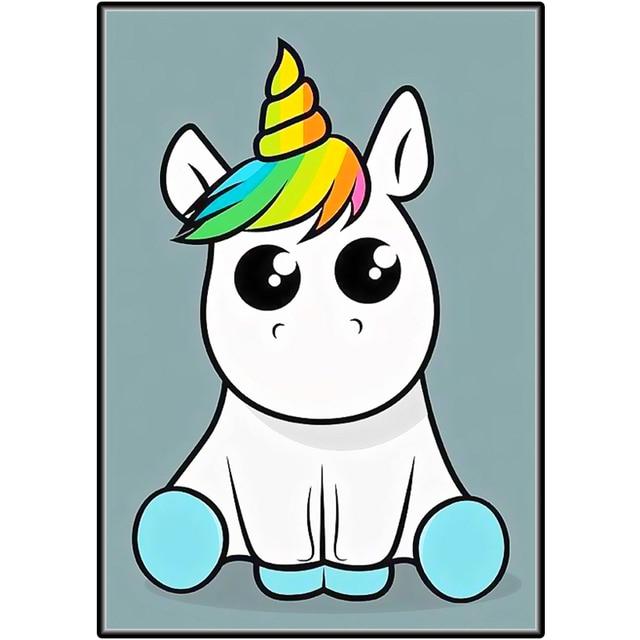 99 Unicornio Dibujo Icono De Ilustracion Vectorial Diseno Lindo