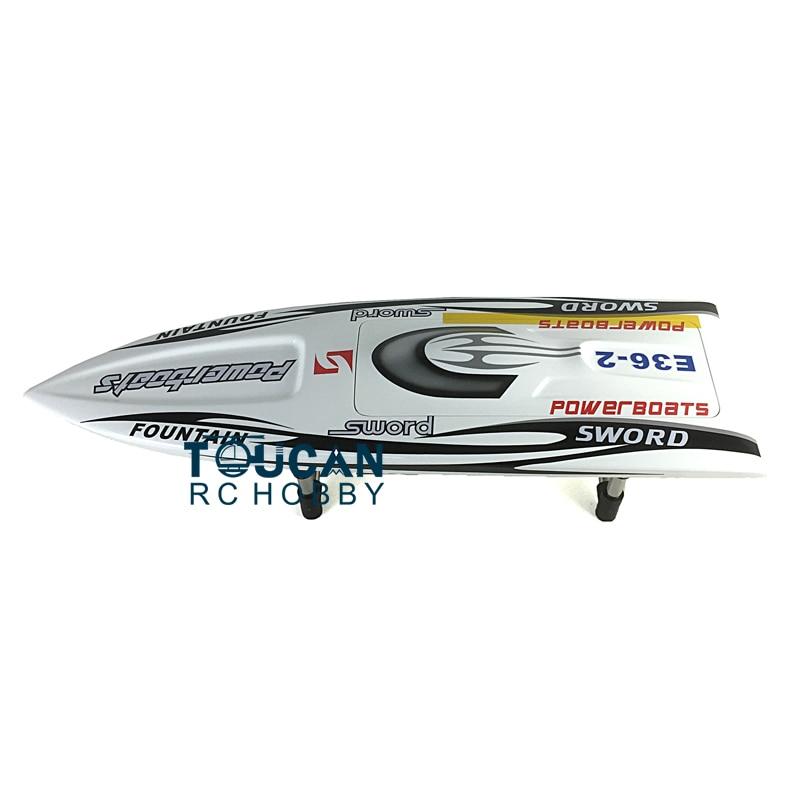 E36 комплект 30 электрический RC лодка хорошо окрашенная стекловолокно Monohull корпус лодки только для продвинутого игрока Белый TH02646 - 2