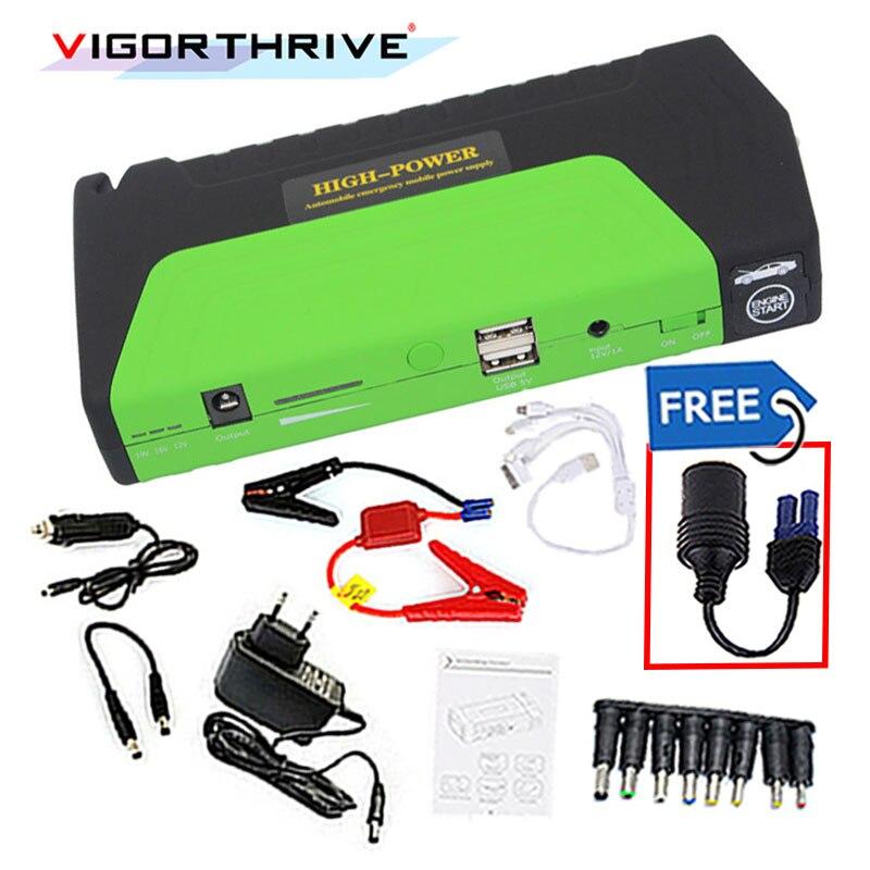 Pour voiture essence 600A batterie 12 V démarreur voiture saut démarreur Portable batterie externe chargeur de voiture Mini dispositif de démarrage d'urgence booster - 2