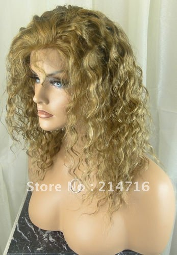 Hot Sale 18Brazilian Remy Virgin Human Hair Full Lace Wig