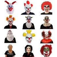 X-Mutlu Oyuncak Korkunç Lateks Palyaço Maskesi Kostümleri Cadılar Bayramı Korku Parti Dekorasyon için