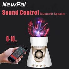 Беспроводной Bluetooth Диско-Шар Лампы Спикер Sound Control Вращающийся Свет с TF карта поддерживаемые(China (Mainland))