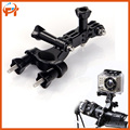 Gopro Accessories Bike Handlebar Seatpost Clamp Pole Mount Holder with 3 Ways Pivot Arm for Gopro Hero 3+ 3 2 1