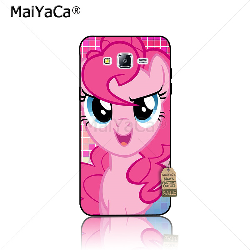 MaiYaCa blue pink My Little Pony Rainbow Dash Clouds cartoon Phone case for samsung J5 j1 j3 j7 note 3 note4 note5 case coque