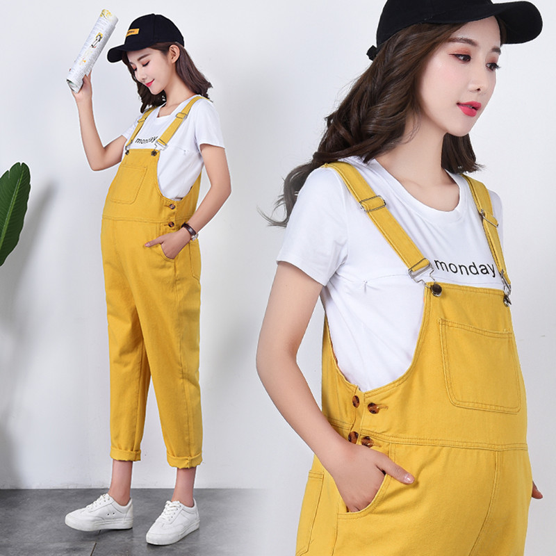 811# Yellow Cotton Denim Maternity Jumpsuits for Four Season Wear Bib Pants Clothes for Prgnant Women Pregnancy Overalls Jeans811# Yellow Cotton Denim Maternity Jumpsuits for Four Season Wear Bib Pants Clothes for Prgnant Women Pregnancy Overalls Jeans