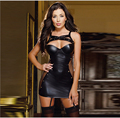 New design fashion baby doll sexy lingerie with  brand hot sexy lingerie plus size 3XL leather erotic lingerie
