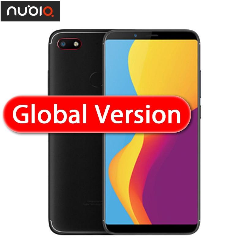 Original Nubia V18 Global Version 4G 64G 6.01 inch 4000mAh Snapdragon 625 Mobile Phone Front 8.0MP Rear 13.0MP Fingerprint ID