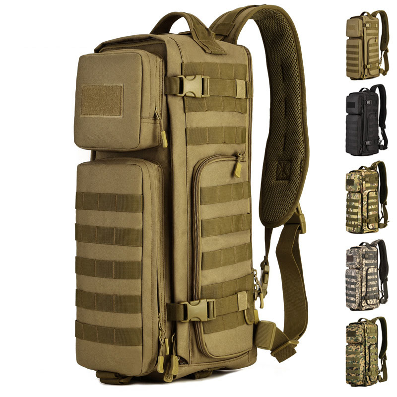 Multifunctional Outdoor Single-should Bags Military Tactical  Camping Hiking Cycling Travel Backpac Sports Package DSB80 65l outdoor sports multifunctional heavy duty backpack military hiking