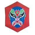 La Ópera de pekín Máscara Rokkaku Cometa de Weifang Kaixuan Kite fábrica