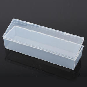 Case Transparent Box-Storage Dressing-Case Collections-Product Plastic Mini Long Packaging-Box