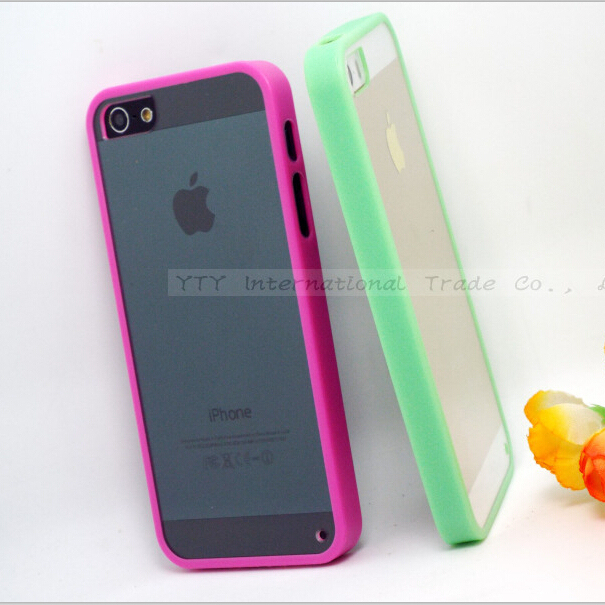 san francisco d0f22 fc11c 5/5S SE 4'' Transparent Hard Cases Cover For Apple iPhone 5 SE ...