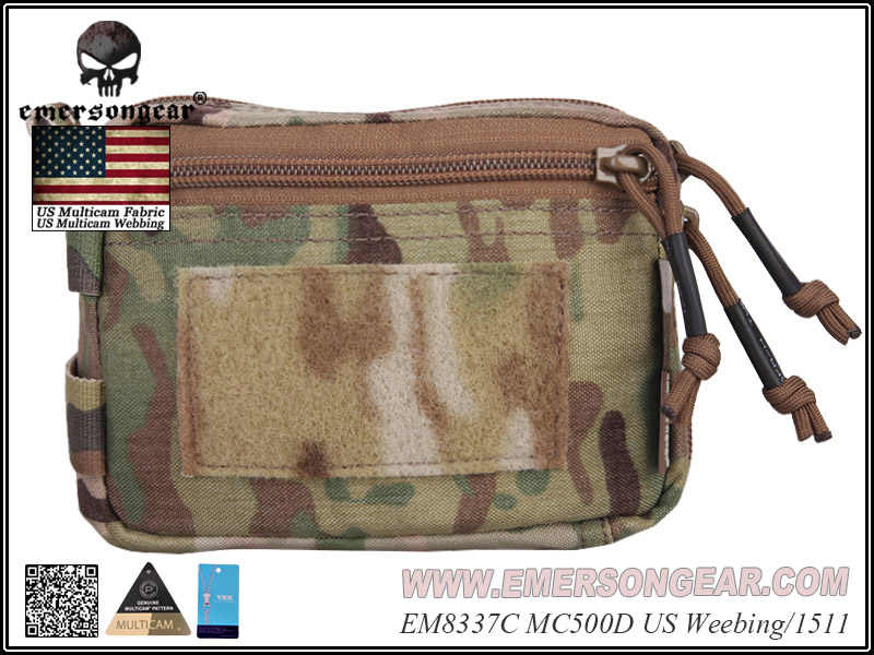 Emersongear Plug-in Debris Waist Bag Hunting Tool Pouch Molle Military Combat Gear EM8337 Multicam  Black Coyote Brown