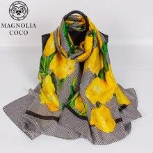 b7bfef94636af 90*180CM Desigual bandana scarf luxury brand 2017 Fashion Women Autumn Winter  Warm silk Scarf