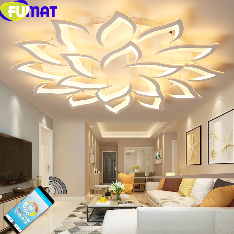 FUMAT Acrylic Lampshade Led Chandelier for Living Room Bar Dinning Room Bedroom  Lighting Fixtures Led Led Ceiling ChandelierFUMAT Acrylic Lampshade Led Chandelier for Living Room Bar Dinning Room Bedroom  Lighting Fixtures Led Led Ceiling Chandelier