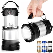 купить Portable Camping Hiking Solar Lantern Lamp Light USB Rechargeable LED Tent Lamp Flashlight Outdoor Folding Torch Light в интернет-магазине