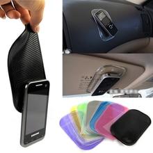 2017 Desk Anti-slip Sticky Pad Mat in Car for Gadgets Accessory car phone shelf antislip mat GPS mp3 cell holder Car Accessories