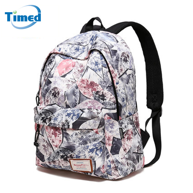 73d58a89f6 2017 New Fashion Popular Printing Backpacks Girls School Bags Large  Capacity Travel Backpacks Men Women Laptop Backpack