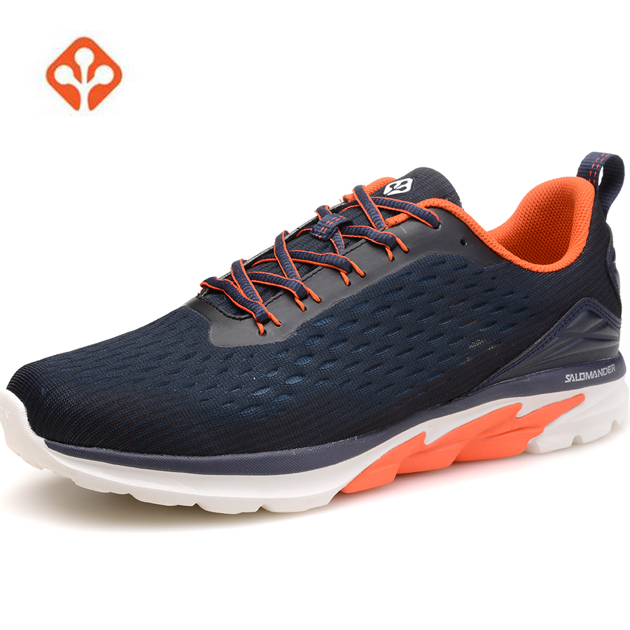 2018 SALAMANDER Mens Spring Sports Running Sneakers Shoes For Men Outdoor Jogging Running Runners Shoes Sneakers Man Male