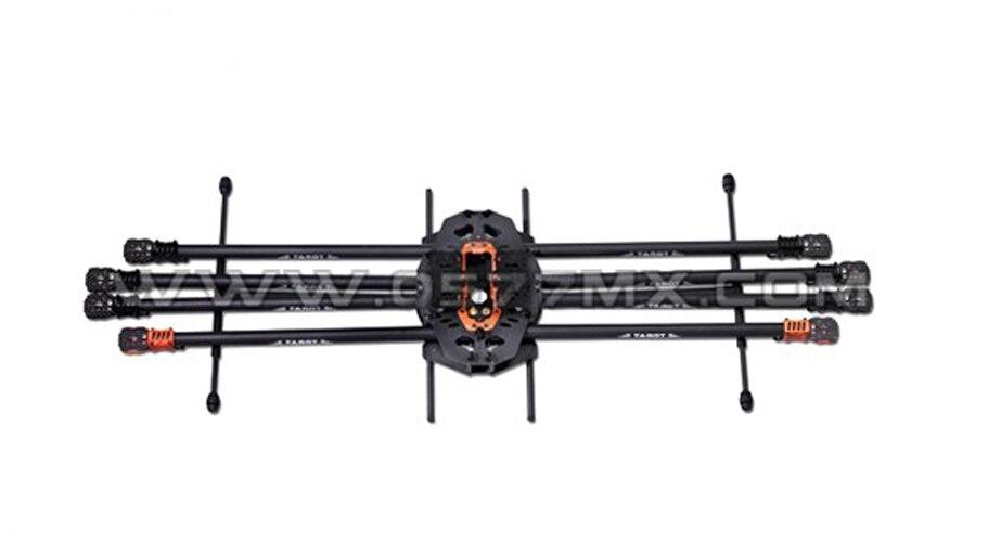 Tarot T18 Photographie Aérienne 25mm En Fiber De Carbone Protection des Végétaux UAV TL18T00 Octocopter Cadre 1270mm FPV