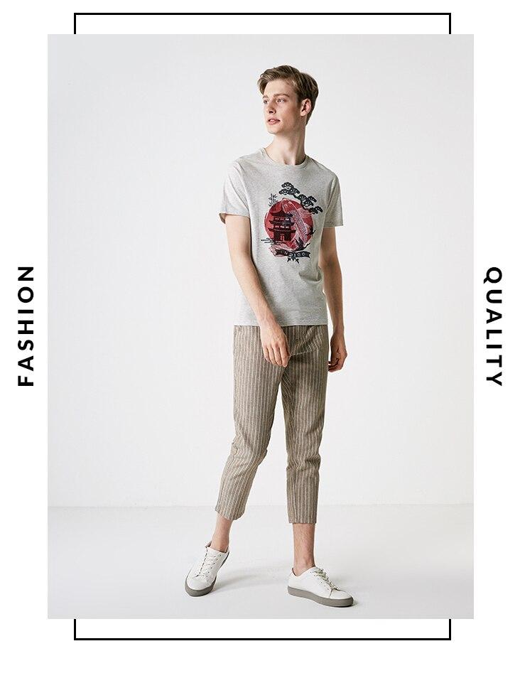 Pantaloni States Stock Crop 30