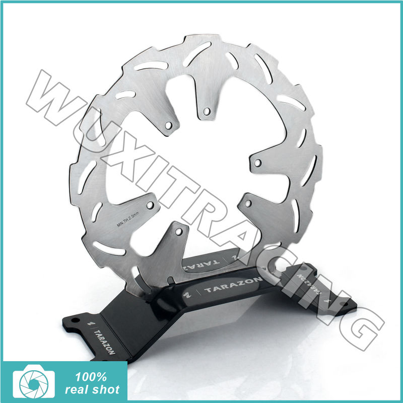 ФОТО 260mm New Front Brake Disc Disk Rotor for Honda CRF R 250  CRFR250 CRF250R 15 16 2015 2016 CRF R 450 CRFR450 CRF450R 15 2015