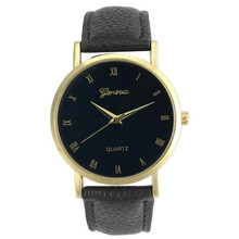 Unisex Quartz Watch Informal Geneva Fake Leather-based Quartz Analog Wrist Watch Males Ladies Free Transport,Mar 21