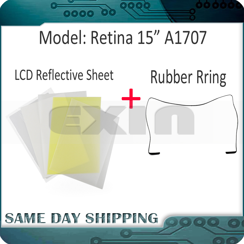 New Laptop A1707 LED LCD Reflective Sheets for Macbook Pro Retina 15 A1707 LCD Backlight Backlit MLH32 MLH42 MPTR2 MPTT2