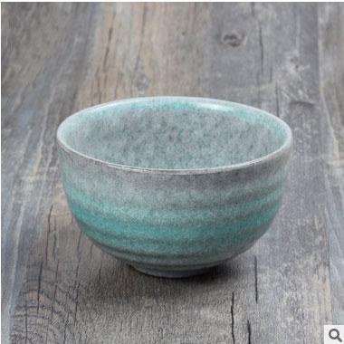 Free shipping Japanese hot sale small size rice bowl, matcha tea bowl, ceramic sushi bowl, wind soup bowl tableware novelty