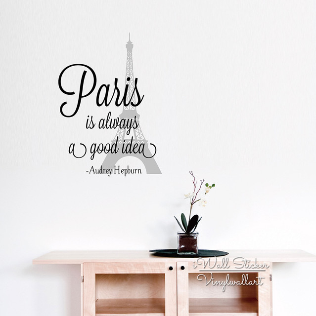 Paris Is Always A Good Idea Wall Decal O2 Pilates