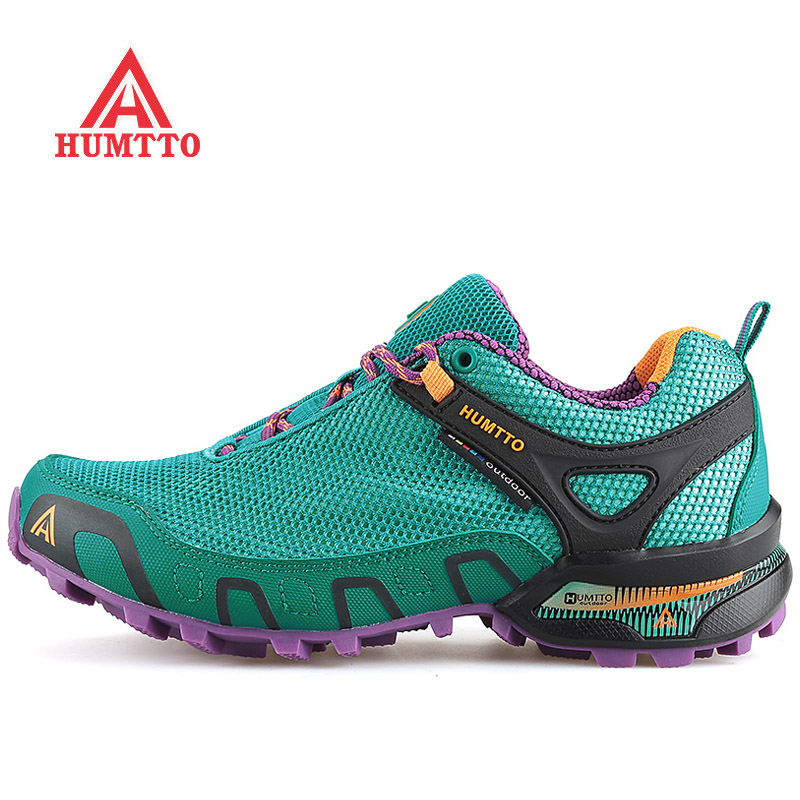HUMTTO Outdoor Hiking Shoes Woman Brand Climbing Mountain Sport Shoes For Women Breathable Camping Trekking Women's Sneakers купить
