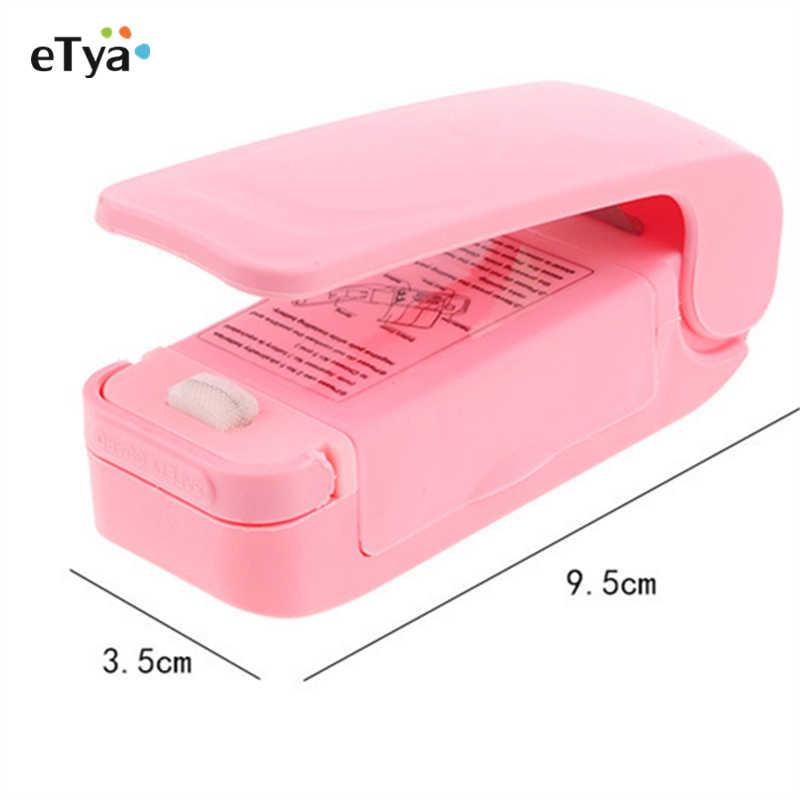 1 peça de venda quente do agregado familiar portátil mini máquina seladora de calor seladora de impulso vedação embalagem pacote plástico aferidor transporte da gota
