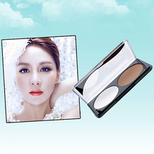 Hot! 2 Colors Long Lasting Shading Highlighter Pressed Powder Palette Base Makeup