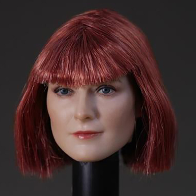 Custom 1 6 Scale Head Sculpt For Hot Toys Body DSTOYS D 006 Short Hair for 12 Inch Action Figure Sideshow TTL Doll Toys Enterbay in Action Toy Figures from Toys Hobbies