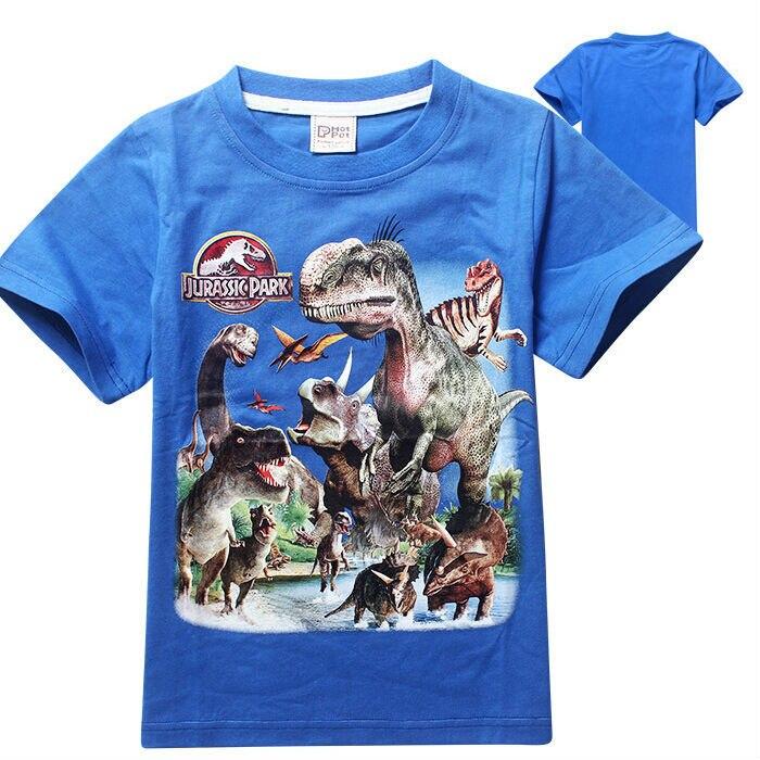 6b99d341 boys clothes jurassic world child blouse vestidos infantil dinosaur jurassic  park t shirt kids clothes roupas infantis menino-in T-Shirts from Mother &  Kids ...
