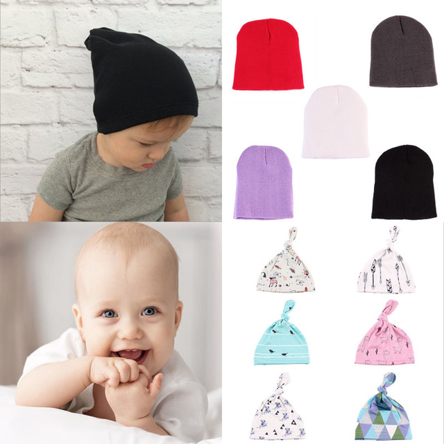 7d17e99bfa9 Multi Styles New Cute Baby Hat Newborn Infant Toddler Girl Boy Baby Cap  Beanie Cotton Hat AuTumn Winter 10 Styles Sleep Hat Hot