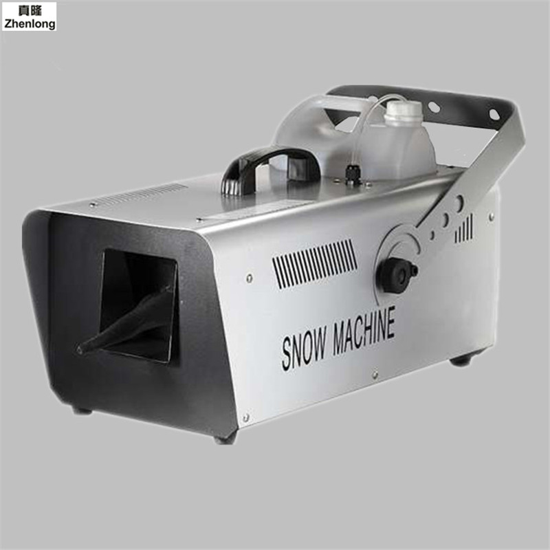 1500w Snow Machine Snowstorm Machine Artificial Snow Maker Remote Control Snow Blower Machine for Disco Club Party Stage Lights