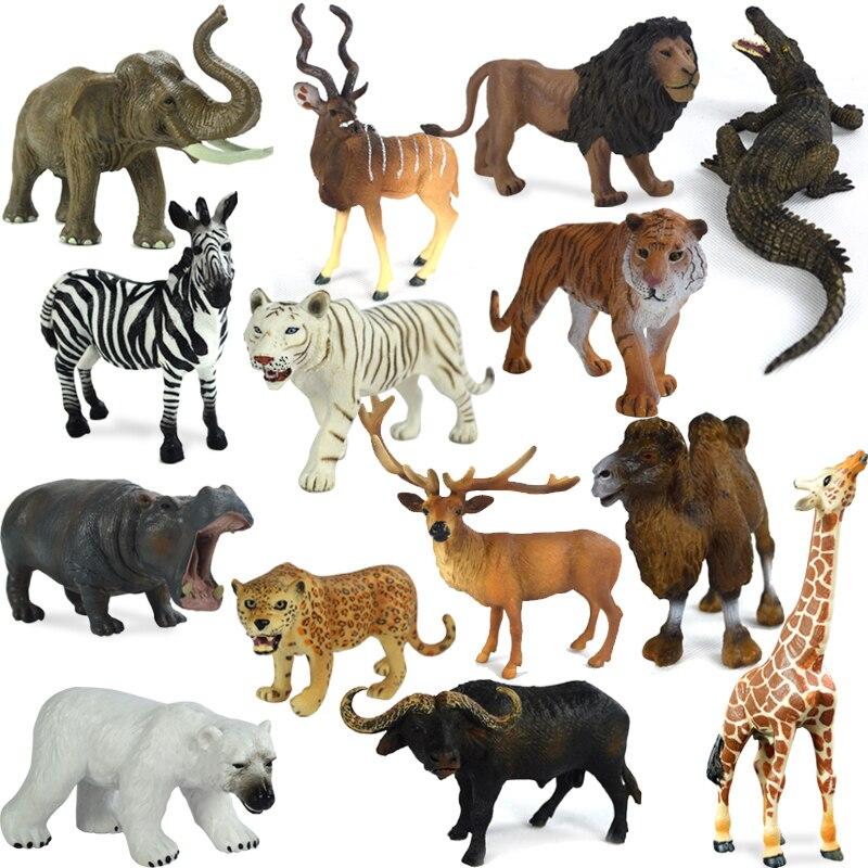 Animal sauvage jouet d 39 origine v ritable sauvage jungle - Tigre polaire ...