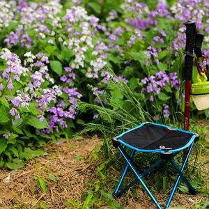 Image 3 - Bahçe Sandalyeleri Taşınabilir Açık Balıkçılık katlanır kamp sandalyesi Oxford Alüminyum Alaşım Plaj Seyahat Katı Küçük Koltuk 2 Boyutları